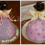 Flower Fairy Doll Cake - Natural Colouring