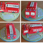 Fire Engine Cake - Natural Colouring
