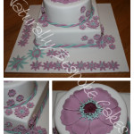Flower Cake - Natural Colouring