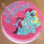 Rainbow Dash Cake - Natural Colouring