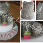 Tatty Teddy Cake - Natural Colouring