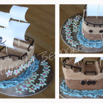 Pirate Ship - Natural Colours