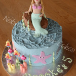 Under the Sea with a Mermaid Figurine - Natural Colours