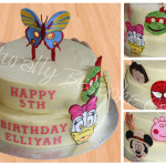 Kids Mask Cake - Natural colours
