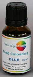 Natural Blue Food Colouring 20g