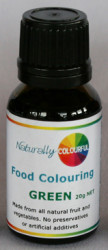 Natural Green Food Colouring 20g