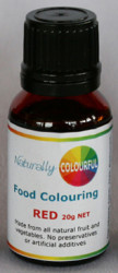 Natural Red Food Colouring 20g