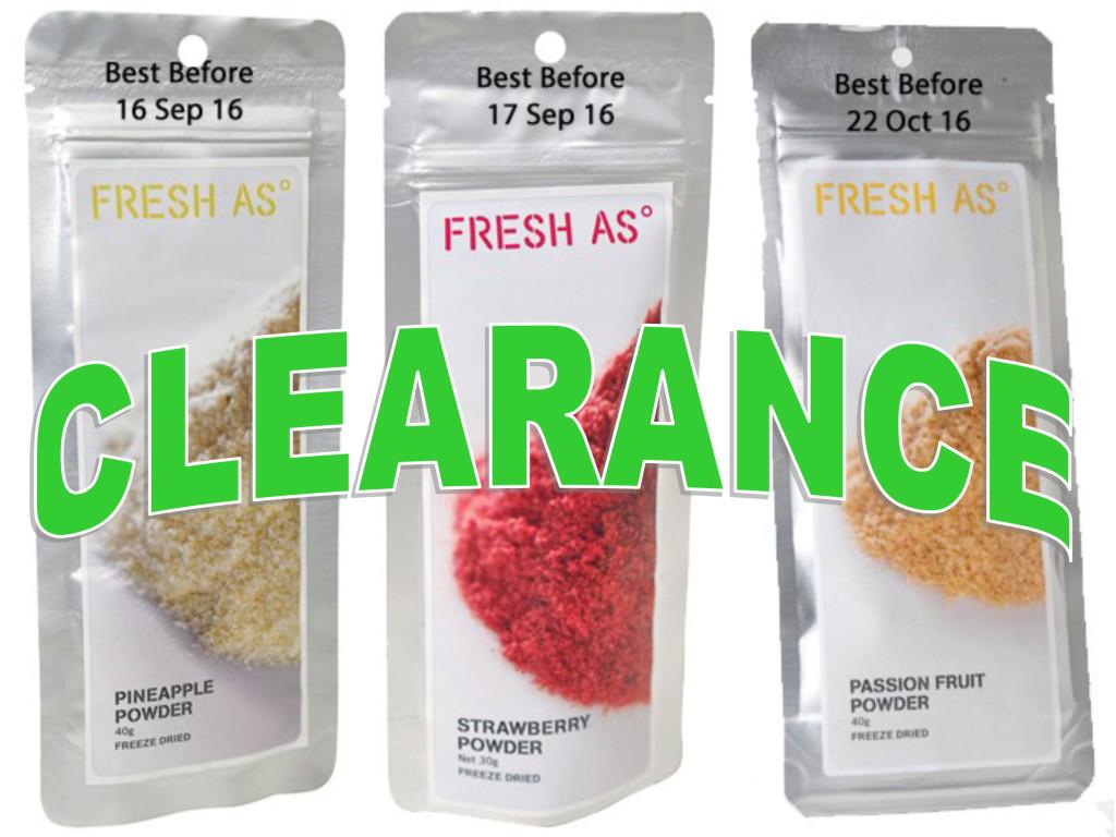 Fresh As Clearance